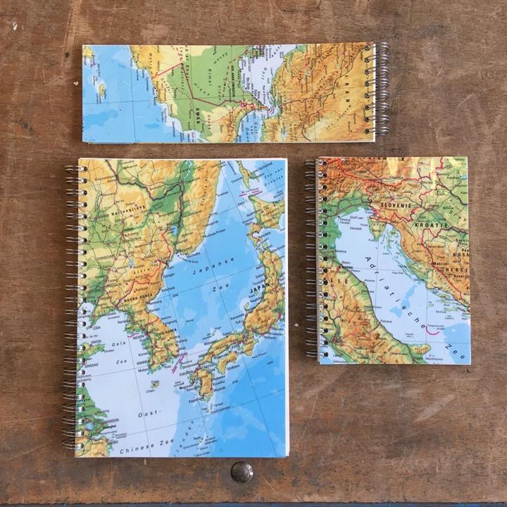 Grote afbeelding Notitieboekjes 3 stuks