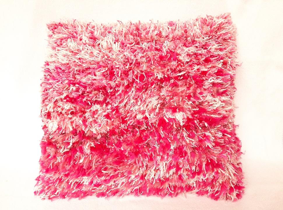 Grote afbeelding Kussen: 'roze kussen'