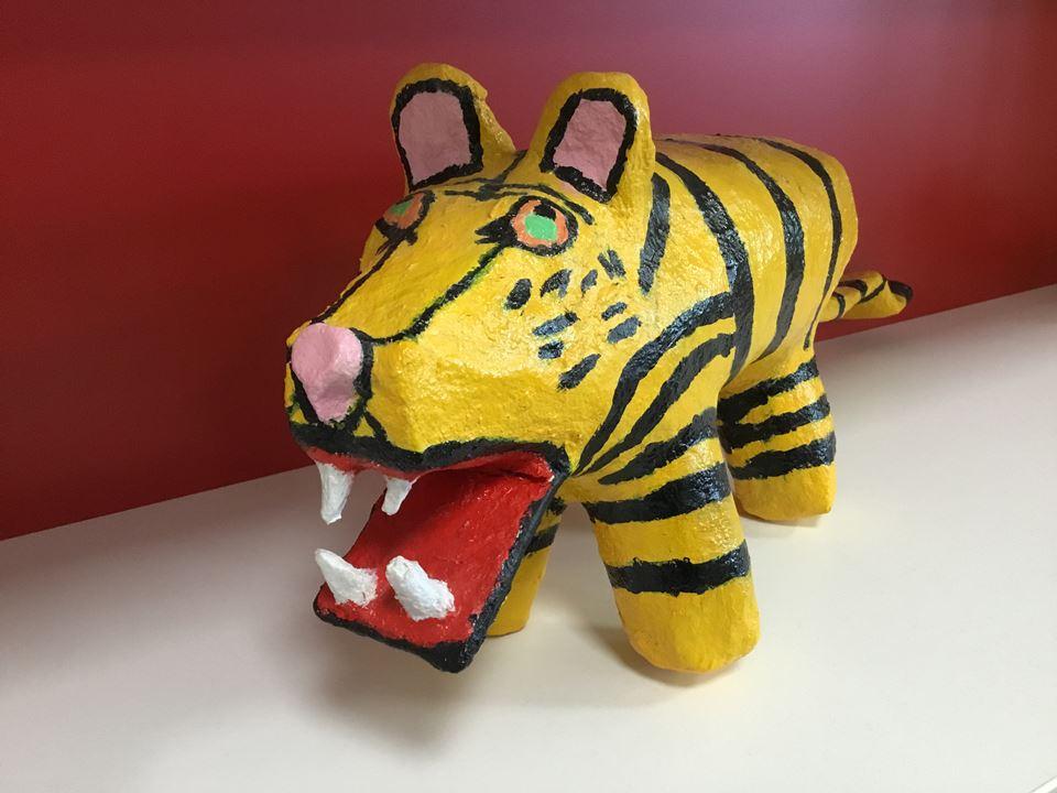 Grote afbeelding Nieuwsgierige tijger