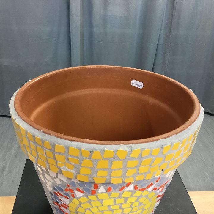 Grote afbeelding Pot met mozaïek