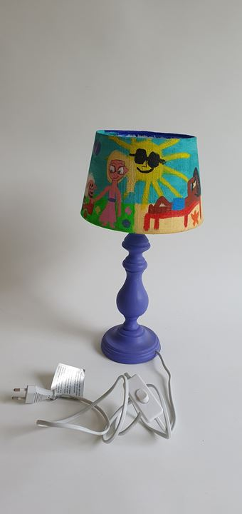 Grote afbeelding Vier seizoenen lamp
